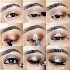 rose gold eye makeup tutorial by karenn