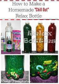 homemade chill out and relax bottle