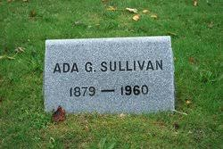 Ada E. Gregory Sullivan (1879-1960) - Find A Grave Memorial