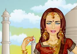 barbie saree dress up games free