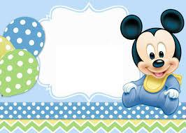 Imagen Sobre Decoracion De Mickey Bebe De Anna Chiara En Idee