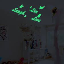 hidup cinta tertawa inspirational quotes dinding bercahaya stiker
