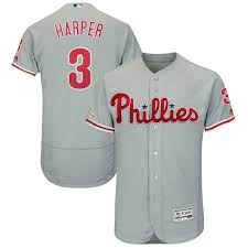 Vf Lsg Youth 3 Bryce Harper Philadelphia Phillies Player Jersey Clothing Boys