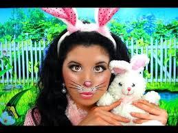 cute bunny rabbit costume makeup you