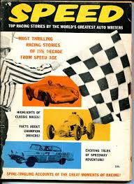 Speed 1957-Indy cars-Bob Scott-LeMans-track roadsters-Duane Carter-VG at  Amazon's Sports Collectibles Store