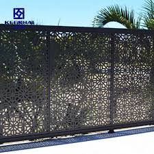 China Custom Made Garden Fencing Perforated Panel Laser Cut Fence China Garden Fencing And Metal Fence Price