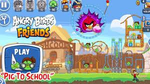 Angry Birds Friends 2019 - Pig To School Tournament Walkthrough ...