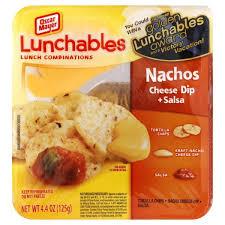 oscar mayer lunchables nachos with