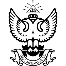 33rd Degree Scottish Rite Masonic Vinyl Decal Etsy