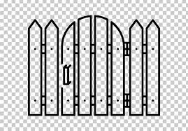 Picket Fence Garden Gate Landscaping Png Clipart Agriculture Angle Area Black And White Computer Icons Free