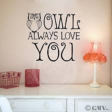 Owl 2 Owl Always Love You Wall Saying Vinyl Lettering Art Decal Quote Sticker 12 76 Wall Decor Stickers Vinyl Lettering Wall Quotes Decals