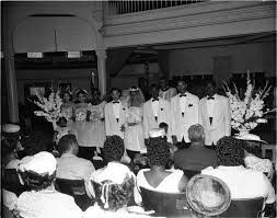 Mrs. Addie Murray Wedding, Los Angeles, 1958 - Tom & Ethel Bradley Center  Photographs - Oviatt Library Digital Collections