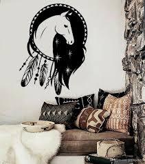Dream Catcher Vinyl Decal Dreamcatcher Wall Canvas Prints Hanging Art Uk Mandala Laptop Large Vamosrayos
