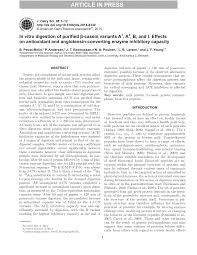 casein variants a1 a2