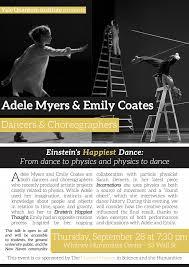 YQI/Franke Program Nontechnical talk - Adele Myers & Emily Coates -  Einstein's Happiest Dance   Yale Quantum Institute
