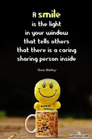 a smile is the light in denis waitley quotes com