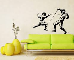 French Fencing Wall Vinyl Decals Sticker Home Interior Decor For Any Room Housewares Mural Design Graphic Bedroom Wall Decal 5699 Amazon Com