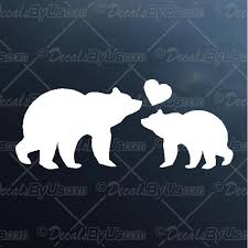 Mama Baby Bear Decal Mama Baby Bear Car Sticker Lowest Prices
