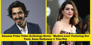 Amazon Prime Video Original Anthology Series Modern Love Features ...