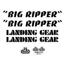 Se Bikes Big Ripper Decal Sticker Set City Grounds