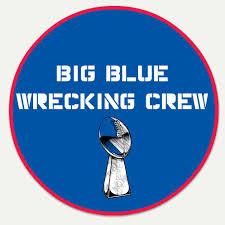 Giants Big Blue Wrecking Crew Custom Decal