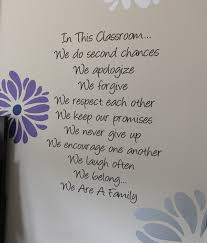 In This Classroom Beautiful Wall Decals