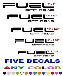 Fuel Off Road Sticker Decal Decals 1 Stickers Fuel Wheel Wheels Usa Made Octagon Car Truck Emblems Auto Parts And Vehicles Tamerindsa Com Ar