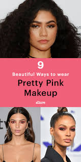 9 pink makeup looks worn by celebrities