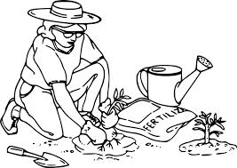 Gartenarbeit Gärtner Pflanzen - Kostenlose Vektorgrafik auf Pixabay