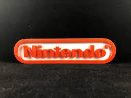 Nintendo Logo Sign Home Decor Mario Zelda 3d Printed Retro Game Room Man Cave Kids Gift Marek3d Com