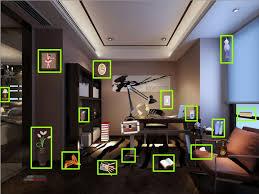 study room objects video walkthrough
