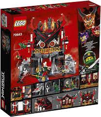 Amazon.com: Lego Ninjago 70643 Temple of The Resurrection: Toys ...