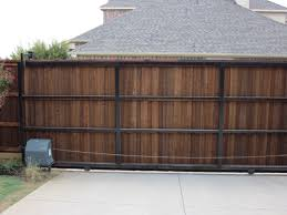 Automatic Gate Inspiration Photos Texas Best Fence Patio