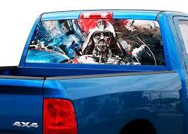 Product Darth Vader Art Rear Window Decal Sticker Pick Up Truck Suv Car