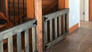 Diy 25 Wood Baby Gates Youtube