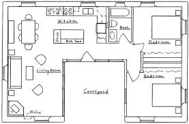 single story 2 bedroom 1 bathroom house