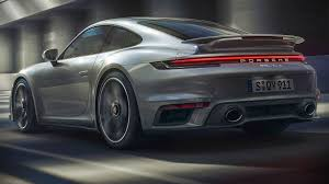porsche 911 turbo s 2021 back wallpaper