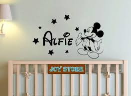 Personalised Large Girl Name Mouse Wall Sticker Any Name Decal Boys Bedroom Wall Sticker Home Decoration 57cm 95cm Baby Nursery Wall Decals Baby Nursery Wall Stickers From Joystickers 11 75 Dhgate Com