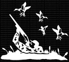 Waterfowl Hunting Window Decal Duck Hunt