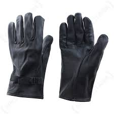 original belgian army leather gloves