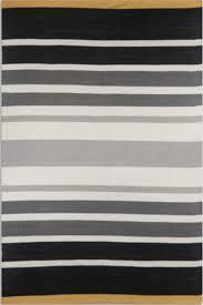 black grey stripes handwoven cotton