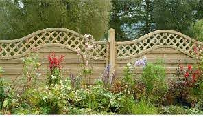 4ft High Forest Prague Fence Panels Pressure Treated Elbec Garden Buildings