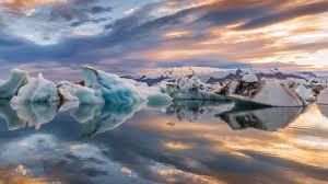 تحميل خلفيات كبيرة الجليد الطافي الصورة أيسلندا البحيرة الجليد