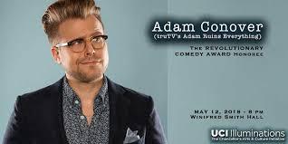 CdC18 Revolutionary Comedy Award honoring Adam Conover   Illuminations   UCI