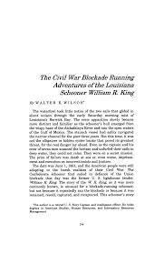 The Civil War Blockade Running Adventures of the Louisiana ...