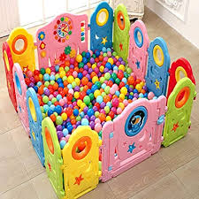 Baby Playpen Activity Centre Children Safety Fence Play Yard Game Playpen Fence For Home Indoor Outdoor