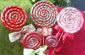 homemade lollipops for