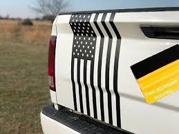 Large American Flag Decal Truck Tailgate Wrap Rear Window Vinyl Sticker 4x4 Ebay