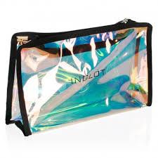 holo metallic makeup bag kc pbo2 z