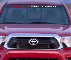 Product Toyota Tacoma Windshield Decal